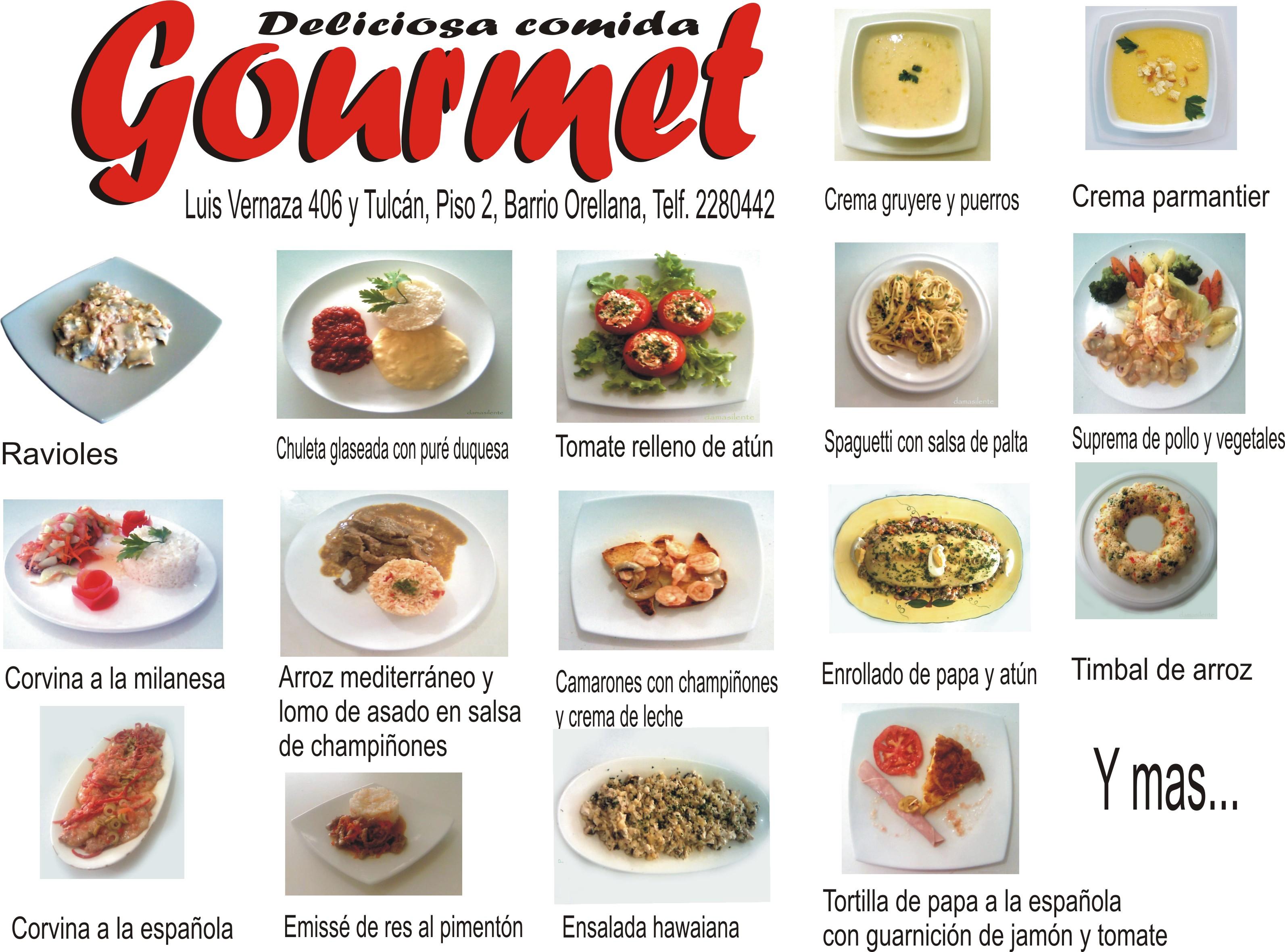 Exquisita comida gourmet pandepascua for Platos gourmet